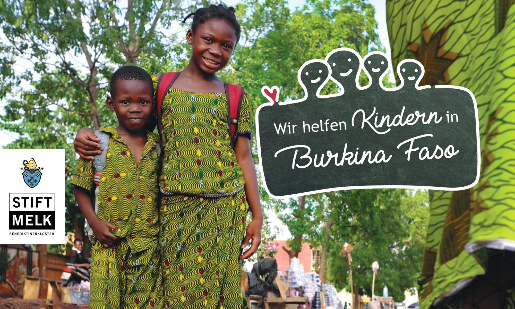 Wir helfen Kindern in Burkina Faso